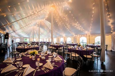 Indoor Tented Weddings, Tented Weddings Worcester MA, Central MA